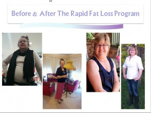 Before and After completing our Rapid Fat Loss Program